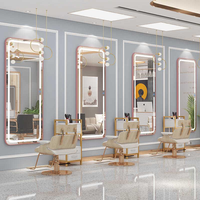Thiết kế và thi công nội thất salon tóc đẹp tại Hà Nội