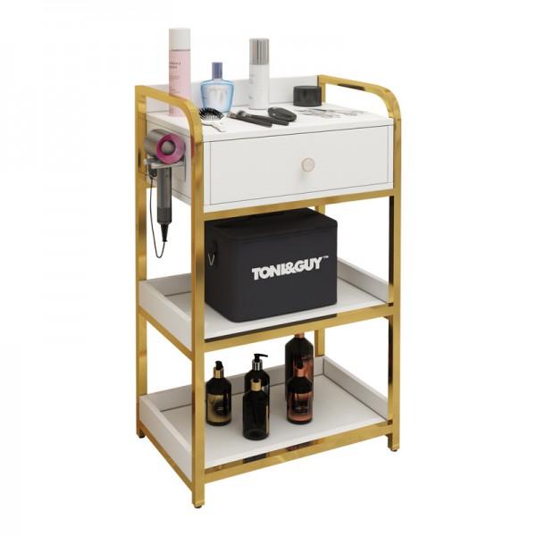 Tủ đồ cạnh gương cho thợ tóc ND - TUC02